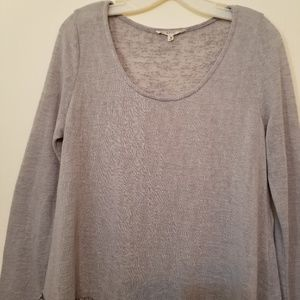 Easel Gray Pullover Sweater Size Medium